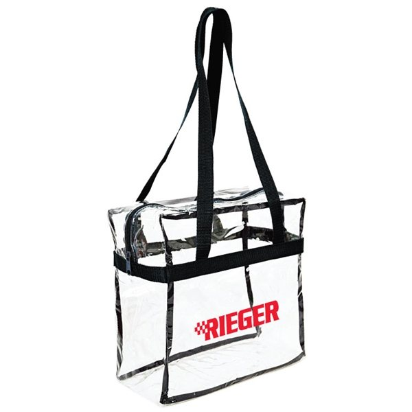 Promotional Pioneer Clear Stadium Tote