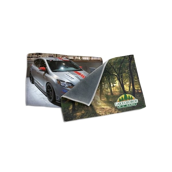 Promotional Dual Sided Microfiber