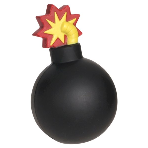 Promotional Bomb With Fuse - Stress Relievers
