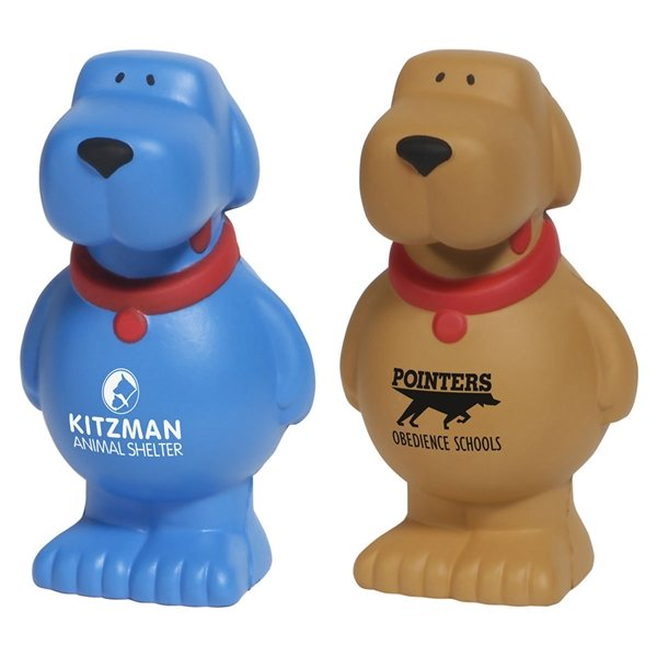 Promotional Cartoon Dog - Stress Relievers