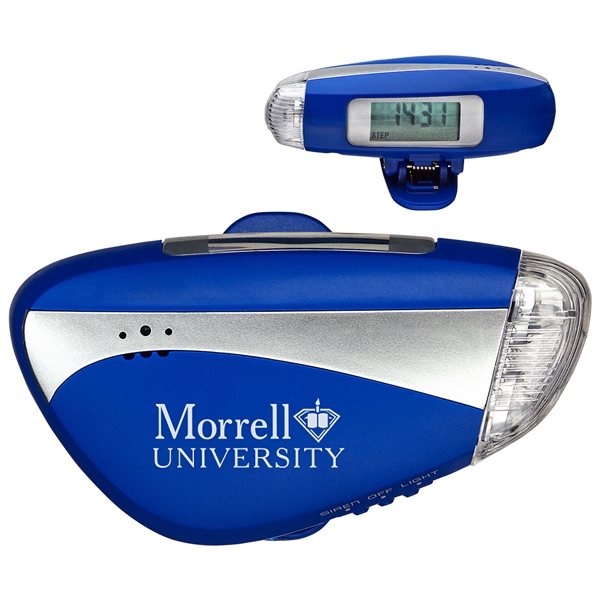 Promotional Light N Sound Pedometer