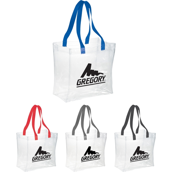 Promotional Rally Clear Stadium Tote