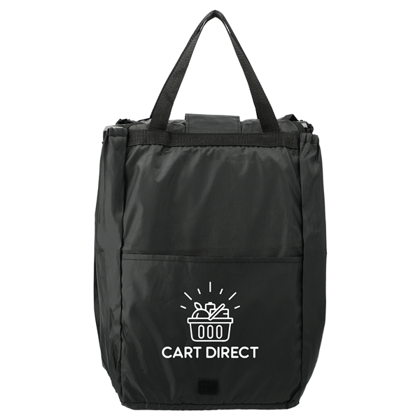 Promotional Over The Cart Grocery Tote