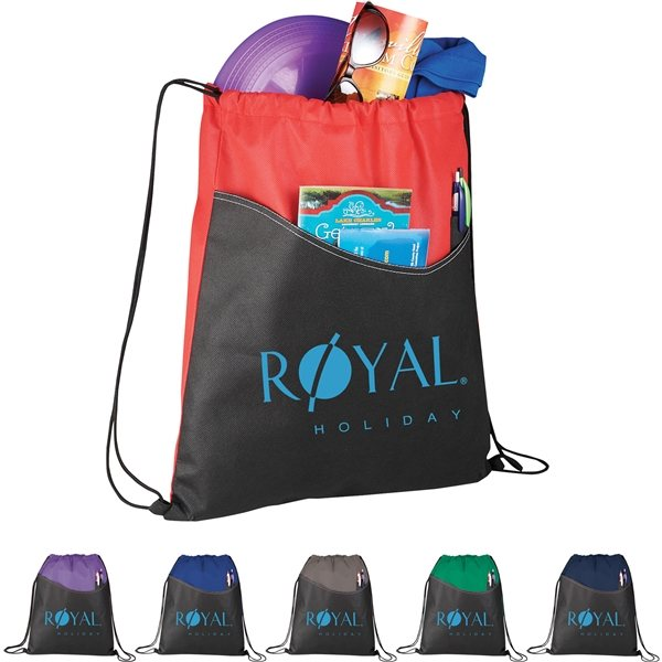 Promotional Rivers Non - Woven Drawstring Bag