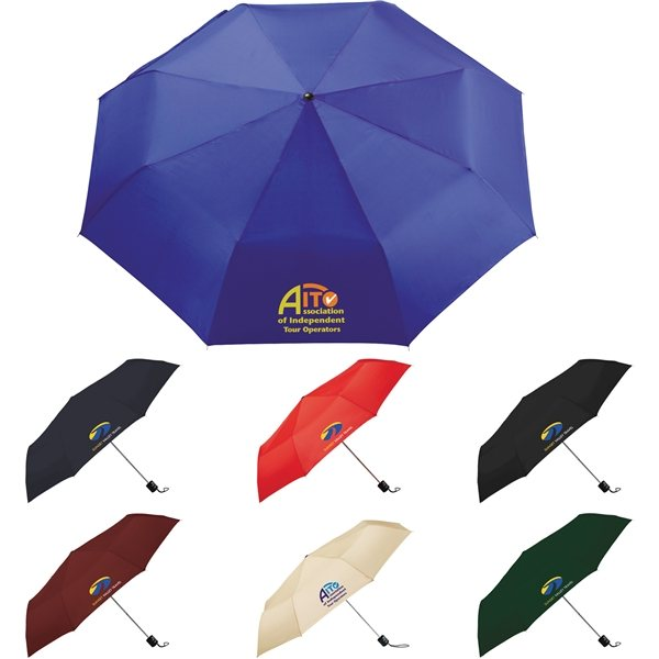 Promotional Pensacola 41 Folding Umbrella