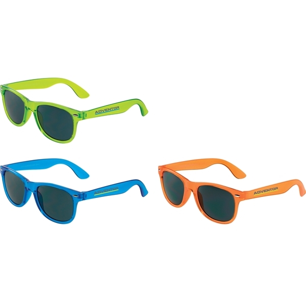 Promotional The Sun Ray Sunglasses - Crystal