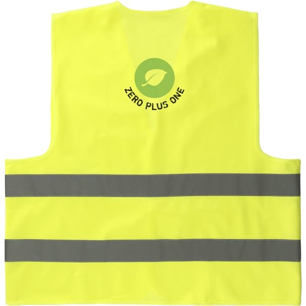 Promotional Neon Yellow Safety Vest
