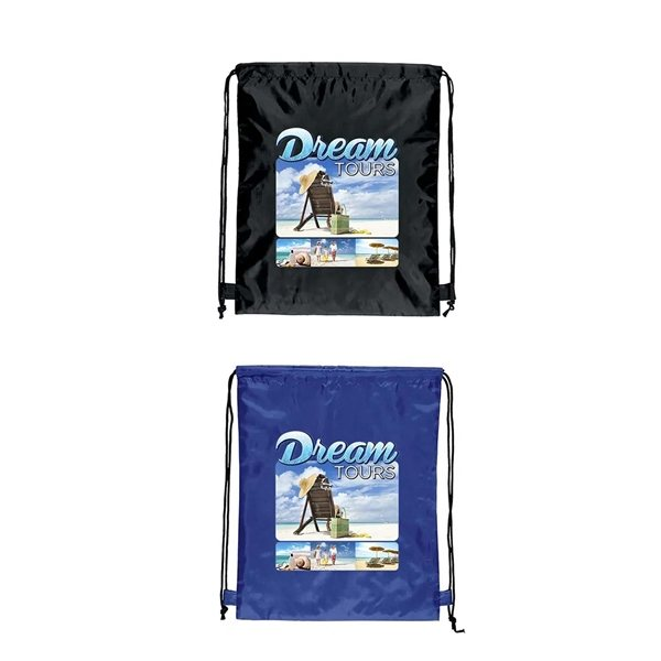 Promotional 190 D Polyester Scout Sport Backpack 13 W x 16 H - Full Color