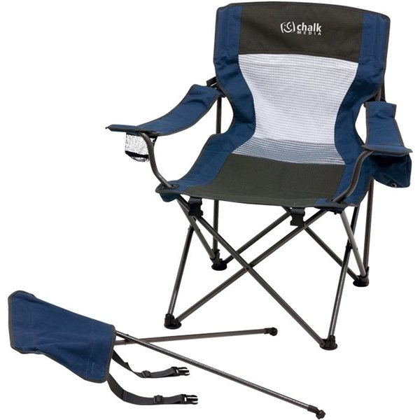 Foldable Chair W Foot Rest Custom Products Folding