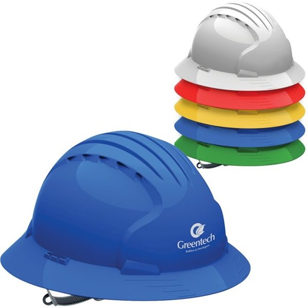 Promotional Evolution 6141 Full Brim Hard Hat
