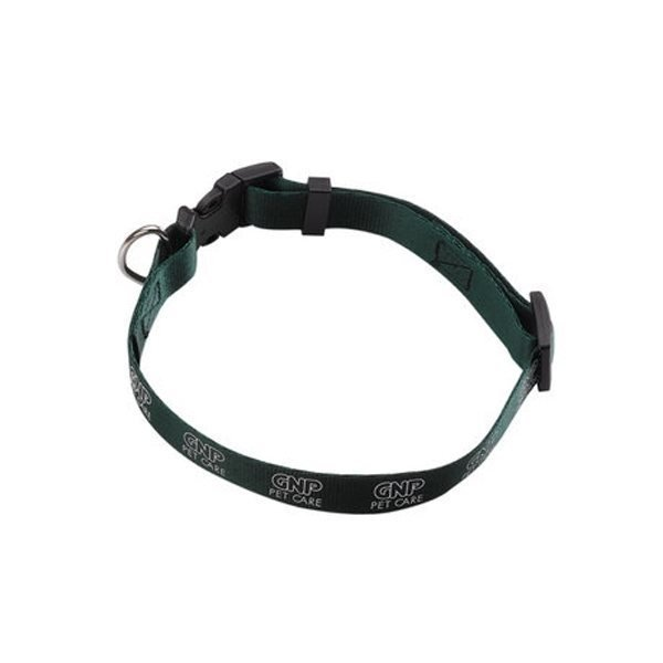 Promotional 3/4 Smooth Nylon Pet Collar with Plastic Snap - Buckle and Size Adjustment