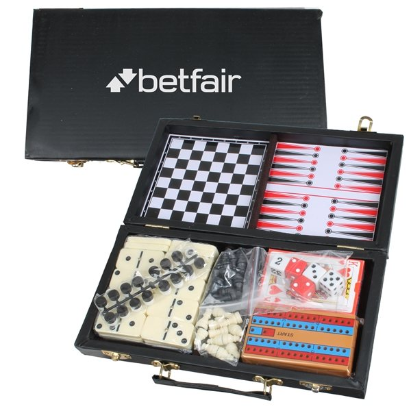 Promotional 6- in -1 Multi - Game Travel Set