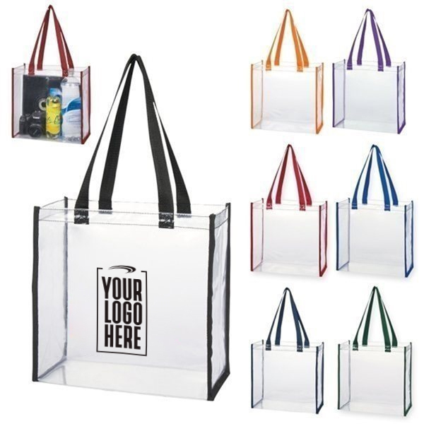 Promotional Clear Tote Bag