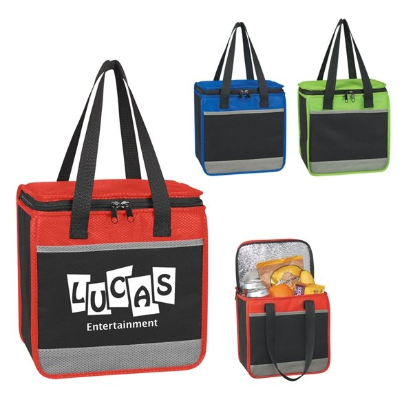 Promotional 600D Polyester Sienna Lunch Cooler