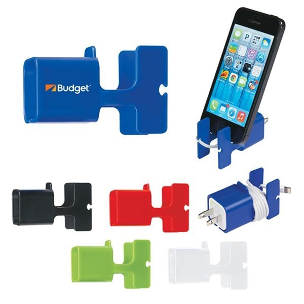 Promotional Phone Stand Cord Wrap Combo