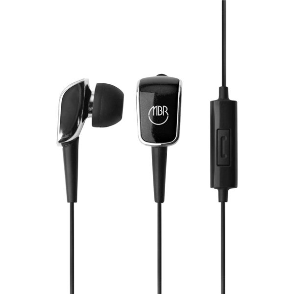 Promotional Stereo Ear Bud With Microphone