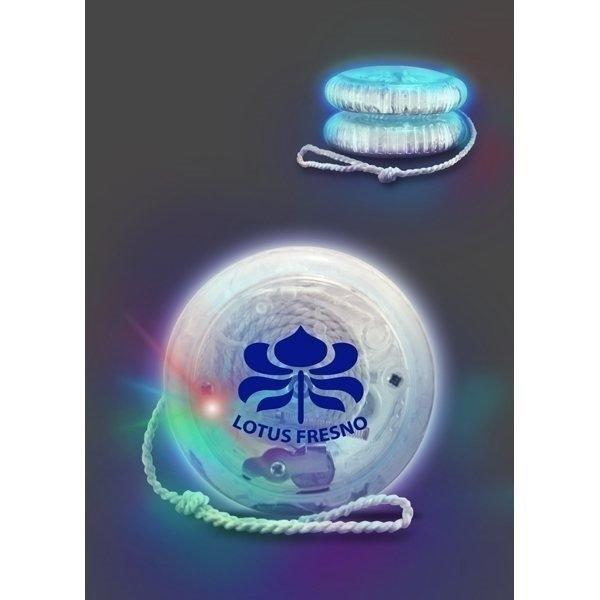 Promotional Multicolor LED Crystal Yoyo