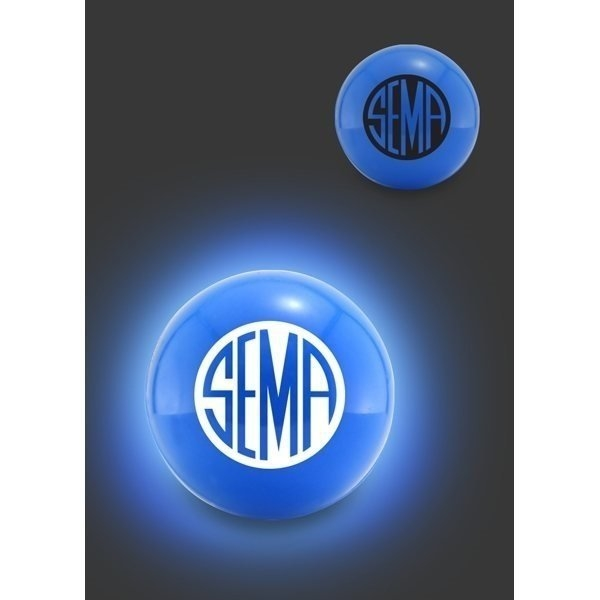 Promotional LED Glow Ball - Blue
