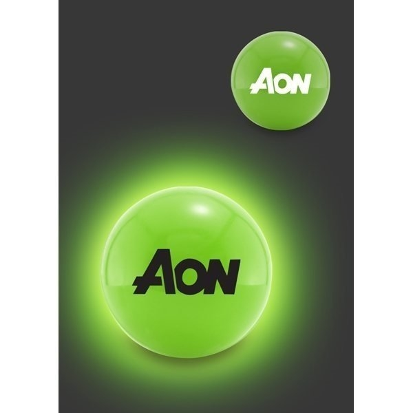 Promotional LED Glow Ball - Green
