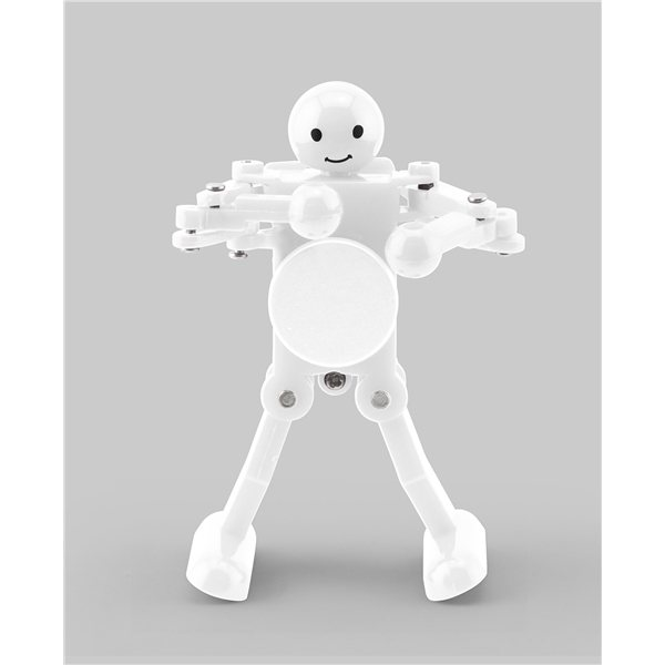 Promotional White Shadow Dancing Robot