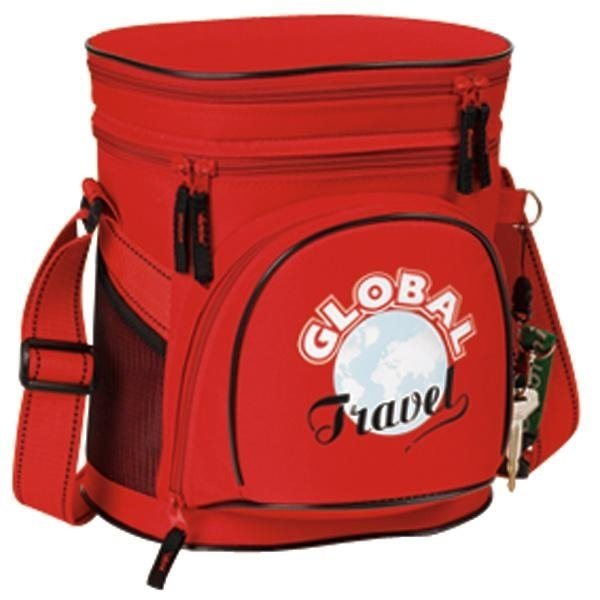 Double Compartment 12 Pack Quot Golf Quot Cooler Advertising