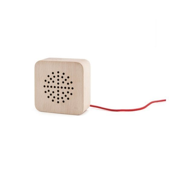 Promotional Kikkerland Wood Speaker