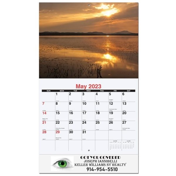 Promotional Wall Calendar - Majestic Outdoors