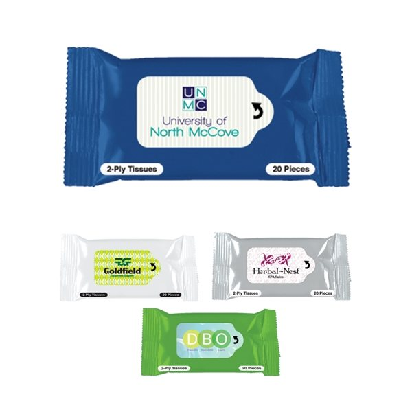 Promotional Facial Tissue Packet