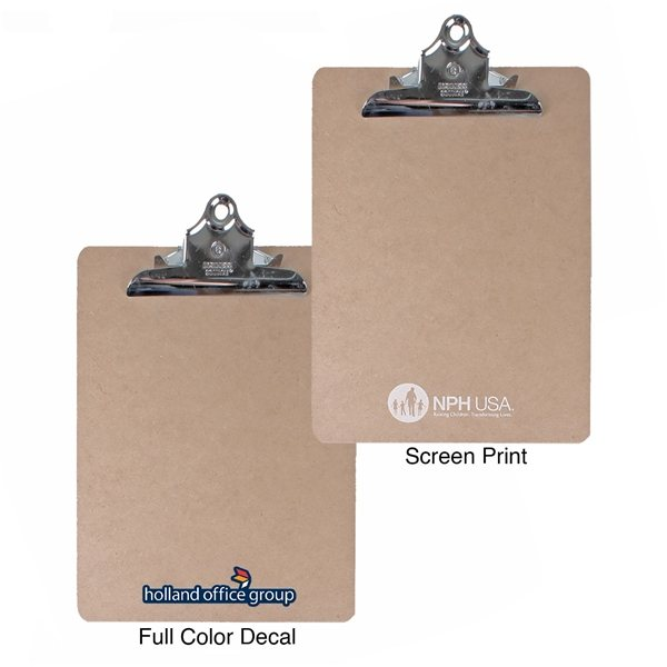 Promotional Letter Size Clipboard