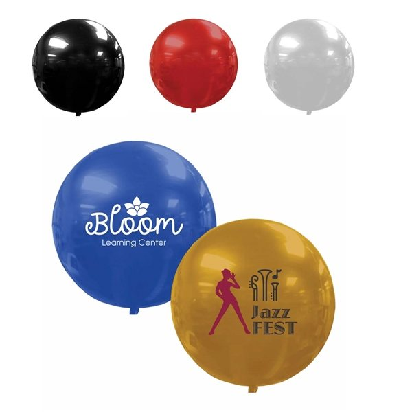Promotional 3D Foil Balloons - Round
