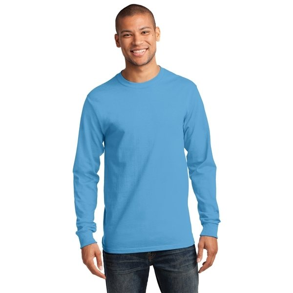 Promotional Port Company(R) - Tall Long Sleeve Essential T - Shirt.