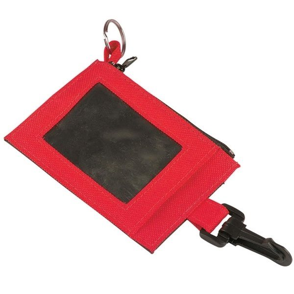 Promotional Two - Tone Badge Holder