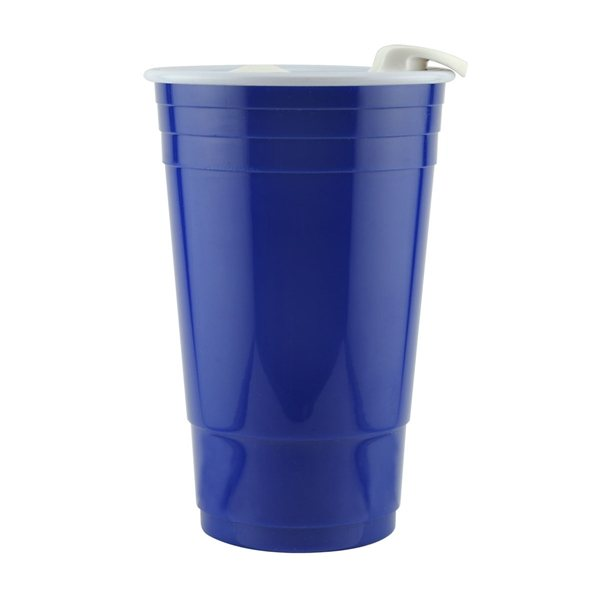Promotional 16 oz Translucent Double Wall Insulated Tumbler