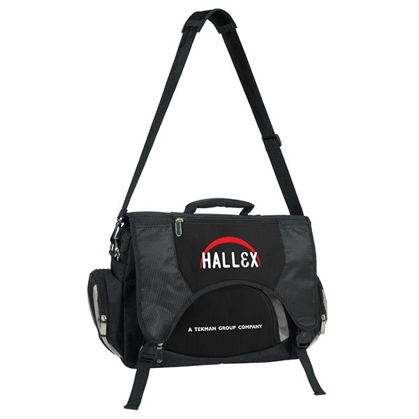 Promotional Deluxe 15.4 Laptop Briefase / Backpack