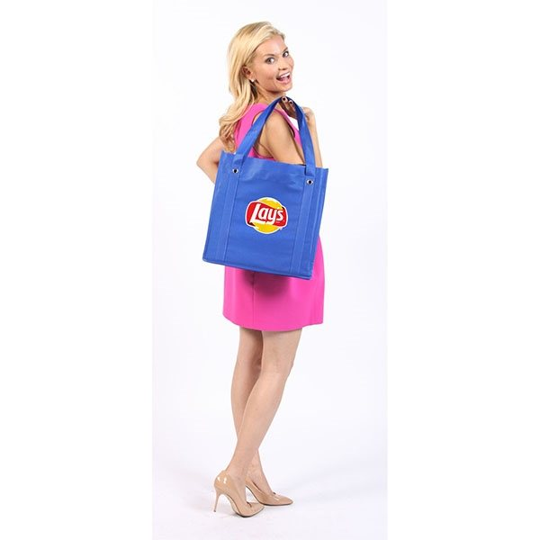 Promotional Non Woven Tote Bag with Shoulder Strap