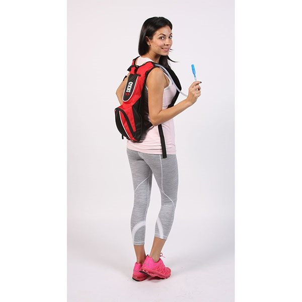 Promotional Hydration Back Pack with Mesh Harness