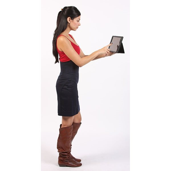 Promotional Faux Leather Case for iPad 2