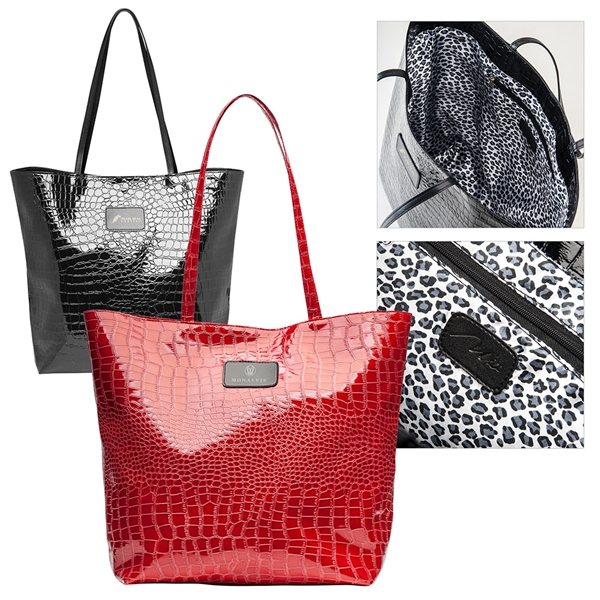 Promotional Leatherette Take - Me - Away Tote