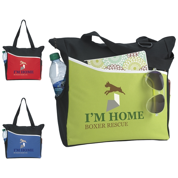 Promotional Polyester Atchison Titro Smart Tote
