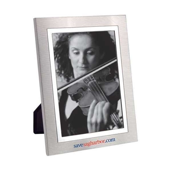 Promotional Two - Tone Metal Frame 8 x 10