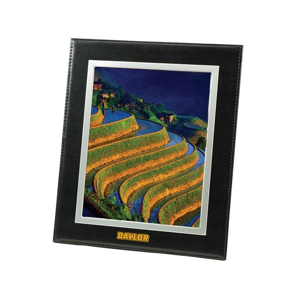 Promotional Bonded Black Leather Frame 8 x 10