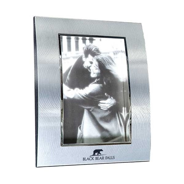 Promotional Two - Tone Curved Metal Frames 5 x 7