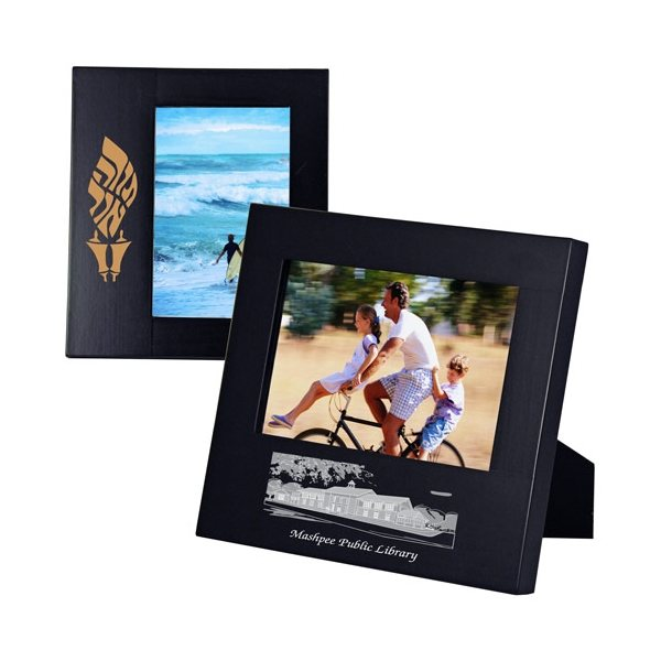 Promotional Wide Border Black Wood Frame 4 x 6