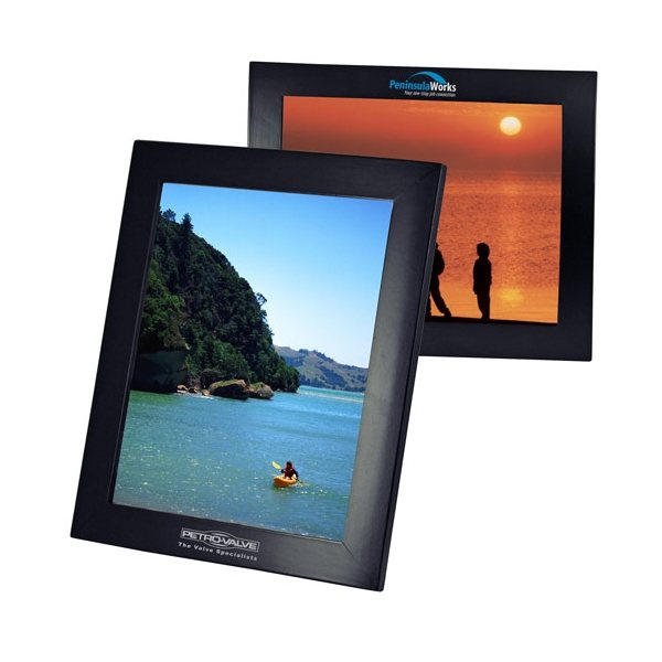 Promotional Curve Style Wood Frame 8 x 10