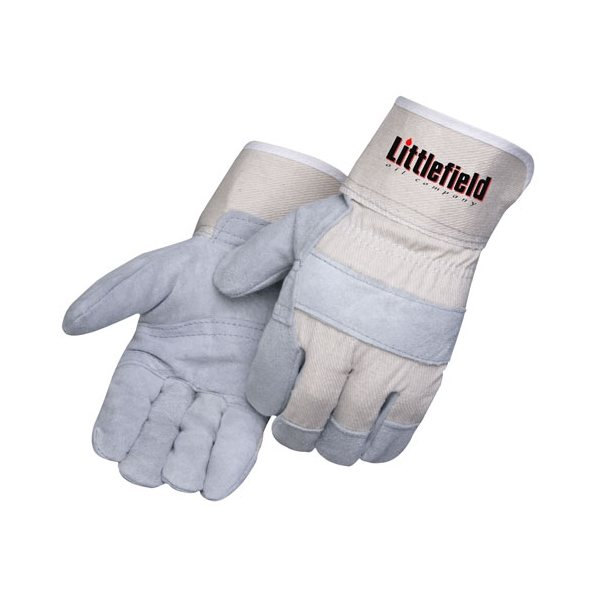 Promotional Economy Split Cowhide Work Gloves