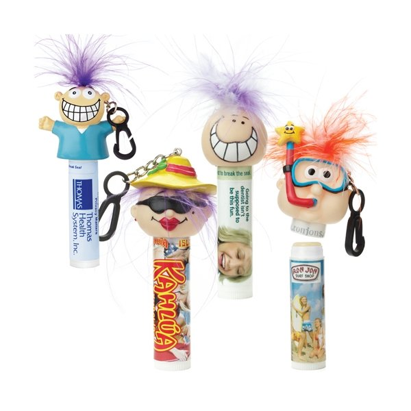 Promotional Lip Balm Vanilla Formula w / Goofy Group(TM) Head