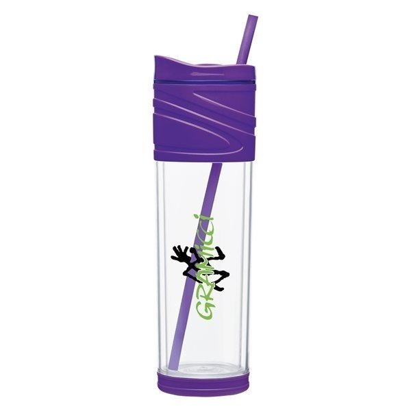 Promotional 16 oz Melrose Acrylic Double Wall Tumbler