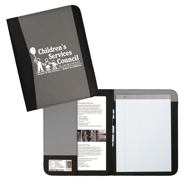 Promotional Letter Size Non - Woven Padfolio