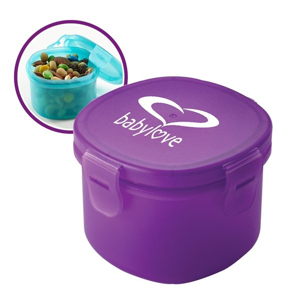 Promotional Snack - in(TM) Polyprolylene Food Container