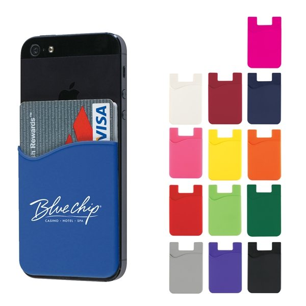 Promotional Adhesive Cell Phone Wallet